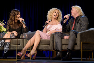 Kimberly Schlapman Little Big Town Participates In An Interview At The Country Music Hall Of Fame And Museum's CMA Theater