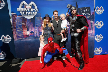 Kimberly Van Der Beek Marvel Universe LIVE! Celebrity Red Carpet Event