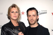 DJ Alexandra Richards and Designer Kinder Aggugini attend the launch of the Kinder Aggugini For Impulse Spring 2011 Capsule Collection for Macy's at Gramercy Park Hotel on January 26, 2011 in New York City.