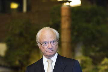 King Carl Gustaf XVI  King Carl Gustav And Queen Silvia of Sweden Visit Japan - Day 3