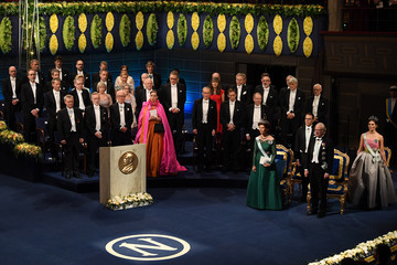 King Carl Gustaf XVI  The Nobel Prize Award Ceremony 2018