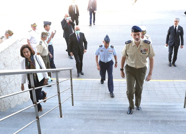 Spanish Royals Attend Armed Forces Day