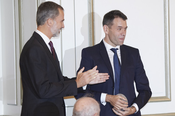 Spanish Royals Attend 'Francisco Cerecedo' Journalism Awards 2018