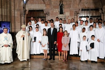King Felipe of Spain Spanish Royals Attend 13th Centenary of The Reign of Asturias
