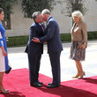 King Hussein Prince Charles And The Duchess Of Cornwall Visit Jordan - Day 2