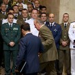 Juan Carlos I King Juan Carlos of Spain Attends Closure of 'The General Staff of the Spanish Army' Academic Year