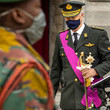 King Philippe of Belgium King Philippe Of Belgium Attends Armistice Day At The Monument Of The Unknown Soldier In Brussels
