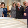 King Philippe of Belgium King Philippe Of Belgium And Queen Mathilde Of Belgium Visit The Province Of West-Flandres