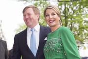 King Willem-Alexander of The Netherlands and Queen Maxima of The Netherlands arrive for the Freedom concert on May 5, 2014 in Amsterdam, Netherlands.