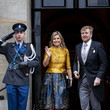 King Willem-Alexander Dutch Royal Family Attends New Year Reception For Diplomatic Corps At Royal Palace In Amsterdam