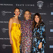 Kinga Lampert Haute Living Honors Miami's Haute 100 List At Brickell City Centre With Special Guest Alonzo Mourning