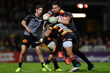 Kini Murimurivalu La Rochelle v Gloucester Rugby - European Rugby Challenge Cup