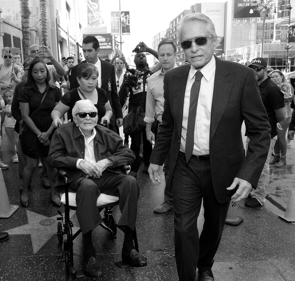Hollywood Walk Of Fame Ceremony Honoring Michael Douglas