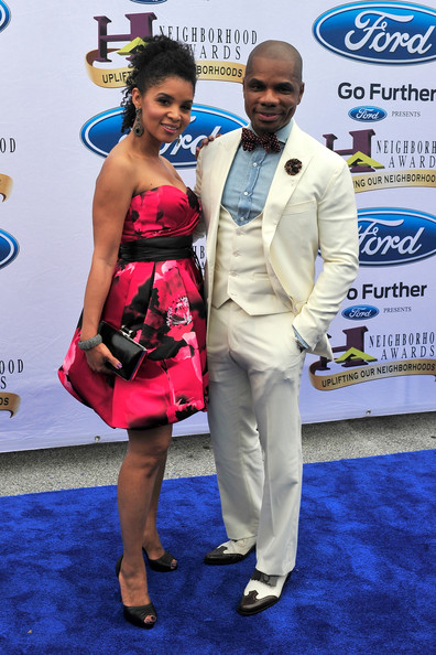 Kirk Franklin and Tammy Collins - Ford Neighborhood Awards