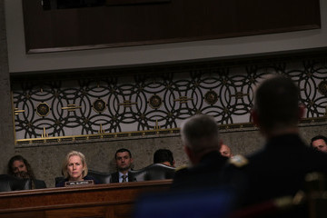 Kirsten Gillibrand Senate Armed Services Committee Holds Hearing On Situation In Afghanistan