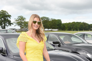 Kitty Spencer Maserati Royal Charity Polo Trophy