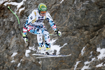 Klaus Kroell Audi FIS Alpine Ski World Cup - Men's Downhill Training