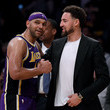 Klay Thompson Golden State Warriors vs Los Angeles Lakers