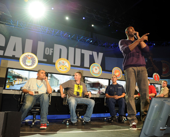 Call Of Duty: Black Ops Launch Party - Show. In This Photo: Kobe Bryant
