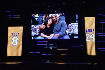 Kobe Bryant Gianna Bryant BET Presents The 51st NAACP Image Awards - Show