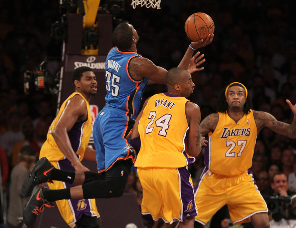 0d9fb0e5492b Kobe Bryant and Kevin Durant Photos»Photostream · Pictures · Oklahoma City  Thunder v Los Angeles Lakers - Game Four