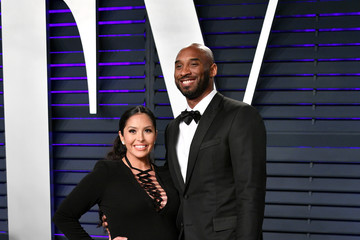Kobe Bryant Vanessa Bryant 2019 Vanity Fair Oscar Party Hosted By Radhika Jones - Arrivals