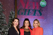 """Lea Michele, Emma Roberts, and Becca Tobin kick off the Holiday Season with Kohl's at their """"New Gifts At Every Turn"""" pop-up on November 06, 2019 in New York City."""