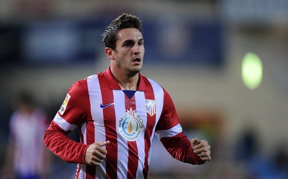 Koke to manchester united