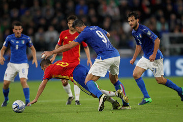 Koke Italy v Spain - FIFA 2018 World Cup Qualifier