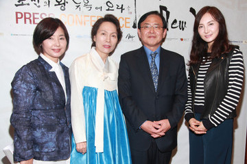 Young-mok Kim Korean Couture And Cuisine Pre-Event Press Conference