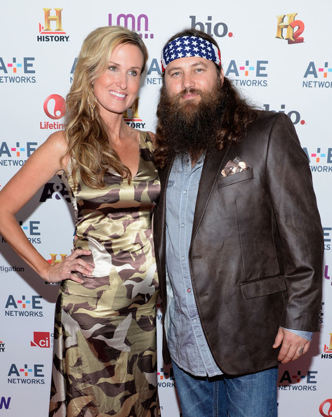 "Robertson Korie Robertson (L) and Willie Robertson of ""Duck Dynasty ..."