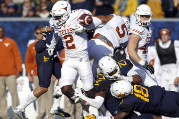 Kris Boyd Texas v West Virginia