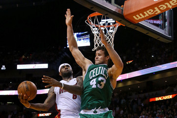 Kris Humphries Boston Celtics v Miami Heat