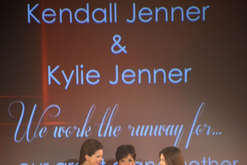 Kris Jenner Kylie Jenner The Heart Truth 2013 Fashion Show