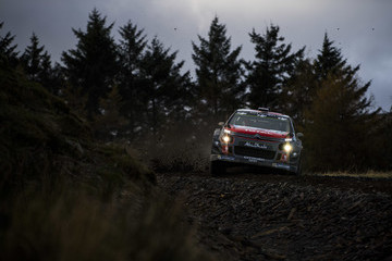 Kris Meeke FIA World Rally Championship Great Britain - Day One