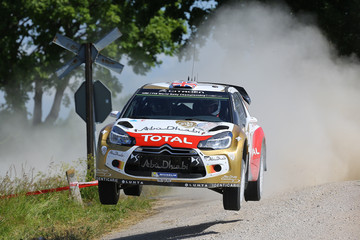 Kris Meeke FIA World Rally Championship Poland: Day 1