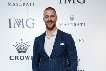 Kris Smith Crown IMG Tennis Party - Arrivals