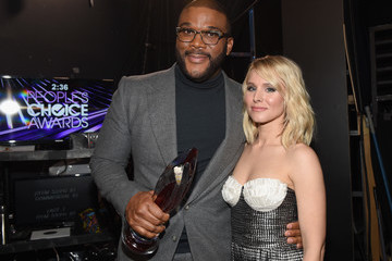 Kristen Bell People's Choice Awards 2017 - Backstage