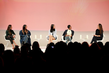 Kristen Noel Crawley Sharon Chuter The Teen Vogue Summit 2019: On-Stage Conversations And Atmosphere