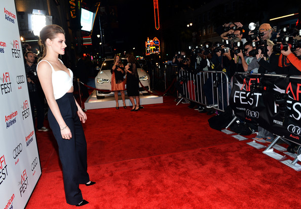 "Kristen Stewart - AFI FEST 2012 Presented By Audi - ""On The Road"" Premiere - Red Carpet"