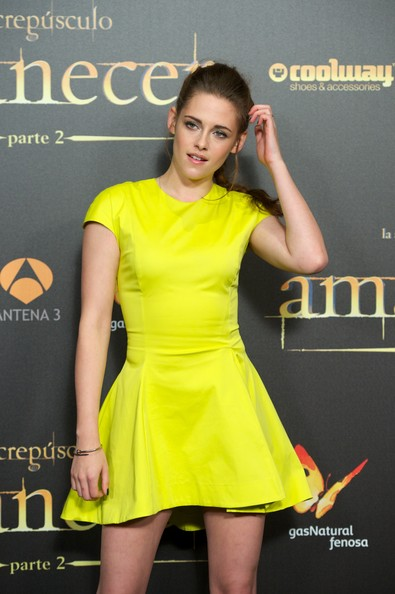 Kristen Stewart - 'Breaking Dawn - Part 2' Madrid Premiere