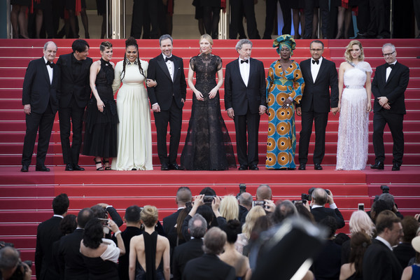'Everybody Knows (Todos Lo Saben)' & Opening Gala Red Carpet Arrivals - The 71st Annual Cannes Film Festival [everybody knows,event,formal wear,ceremony,crowd,suit,tuxedo,cate blanchett,thierry fremaux,jury members,denis villeneuve,robert guediguian,l-r,red carpet arrivals,cannes film festival,gala]