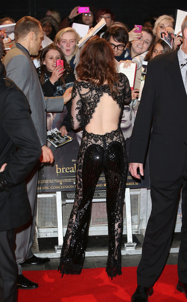 Kristen Stewart - The Twilight Saga: Breaking Dawn Part 2 - UK Premiere - Arrivals