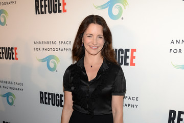 Kristin Davis Opening of REFUGEE Exhibit At Annenberg Space For Photography