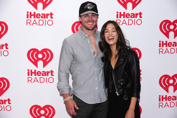 Kristin Kreuk and Stephen Amell - 2012 iHeartRadio Music Festival