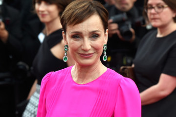 Kristin Scott Thomas 'The Killing of a Sacred Deer' Red Carpet Arrivals - The 70th Annual Cannes Film Festival