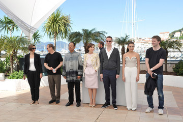 Kristin Scott Thomas Rhatha Phongam 'Les Salauds' Photo Call in Cannes