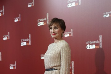 Kristin Scott Thomas Red Carpet Arrivals - Cesar Film Awards 2016 At Theatre du Chatelet