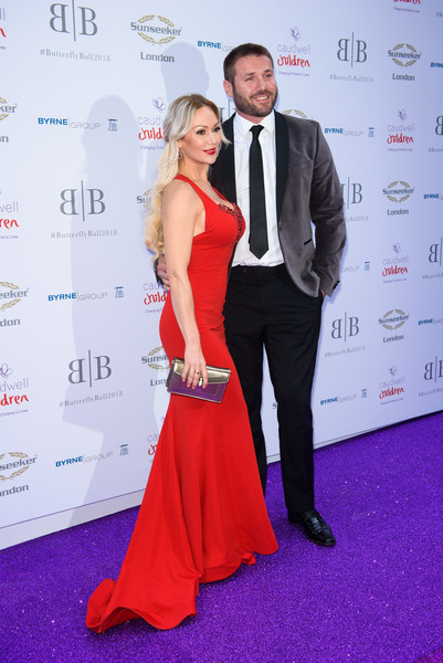 The Caudwell Children Butterfly Ball - Red Carpet Arrivals [red carpet,carpet,red,event,flooring,premiere,dress,fashion,formal wear,suit,red carpet arrivals,ben cohen,kristina rhianoff,england,london,grosvenor house,caudwell children butterfly ball,the caudwell children butterfly ball]