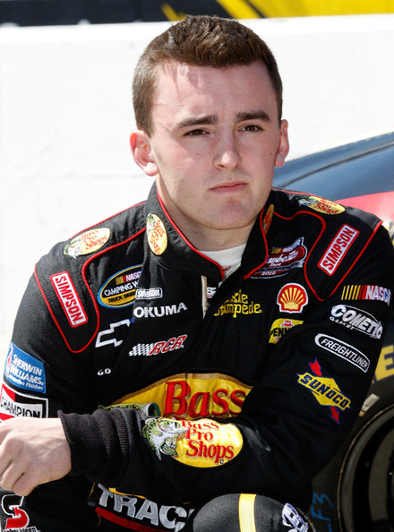 The 28-year old son of father Mike Dillon and mother Tina Dillon, 172 cm tall Austin Dillon in 2018 photo